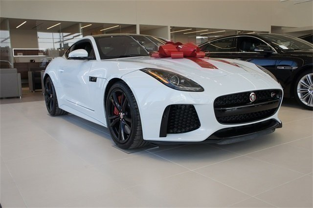 certified pre-owned 2017 jaguar f-type svr 2d coupe in austin