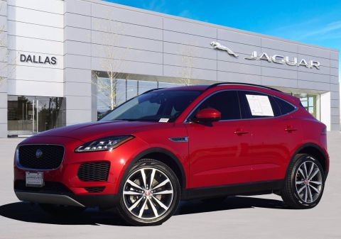 New 2019 Jaguar E-PACE S With Navigation & AWD