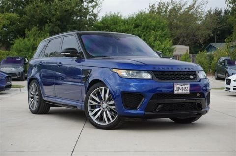 Pre-Owned 2017 Land Rover Range Rover Sport 5.0L V8 Supercharged SVR